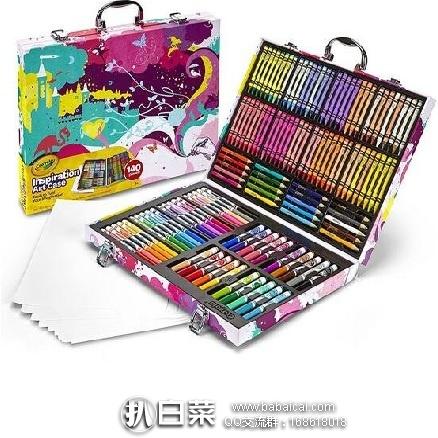 亚马逊海外购:Crayola 绘儿乐 Inspiration 高级小艺术家精美礼盒绘画套装 降至¥112.69,凑单直邮免运费,含税到手约¥126