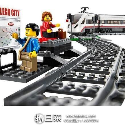 日本亚马逊:LEGO 乐高 City 高速客运列车 60051(共含610块颗粒) 补货低至9650日元(约¥567)