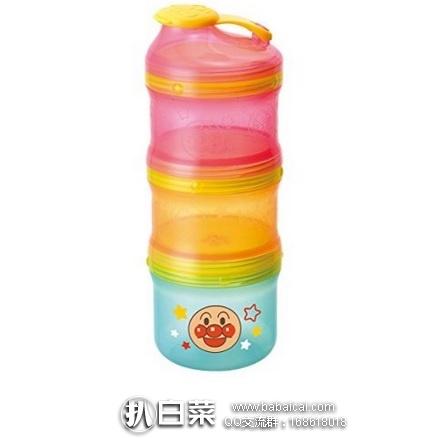 亚马逊海外购:面包超人 2用 奶粉盒 零食盒(可保存辅食,可微波加热) 特价¥29.38,凑单直邮免运费,含税到手¥33