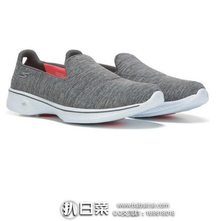亚马逊海外购:Skechres 斯凯奇 Go Walk 4 女士健步鞋 特价¥205.99,直邮免运费,含税到手¥231