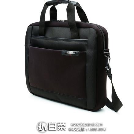亚马逊海外购:Samsonite 新秀丽 Syndicate 15.6英寸电脑包/公文包 特价¥147.21,凑单直邮免运费,含税到手历史新低¥165