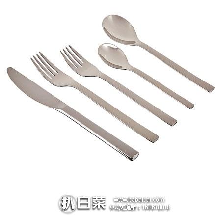 亚马逊海外购:WMF 完美福 Nuova系列 20件不锈钢餐具 特价¥287.67,直邮免运费,含税到手仅¥321