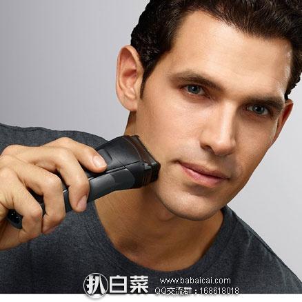 亚马逊海外购:BRAUN博朗 3系 300S 电动剃须刀 现特价¥188.51,凑单免费直邮,含税到手仅¥210