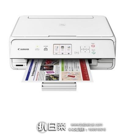 亚马逊海外购:Canon佳能 PIXMA TS5020 无线打印机 降至¥440.81,直邮免运费,含税到手¥493