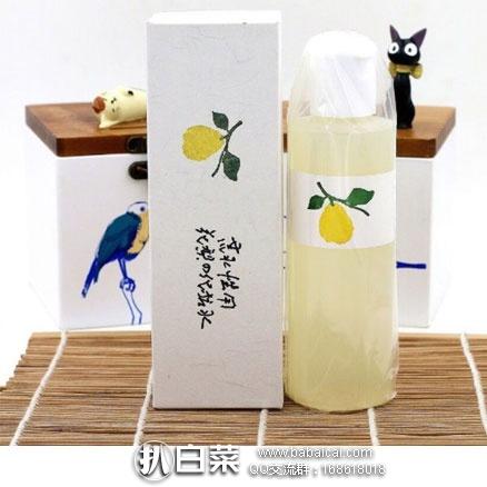 日本亚马逊:花梨 美白保湿抗敏感化妆水 天然无添加 200ml 特价2160日元(约¥125元)