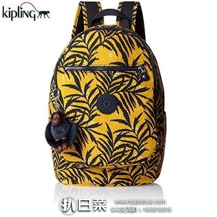 亚马逊海外购:Kipling 吉普林 Clas Challenger 印花多功能双肩背包 特价¥314.57,直邮免运费,含税到手¥352