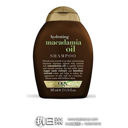 亚马逊海外购:OGX澳洲坚果油洗发水 特价¥52.5,凑单直邮免,有免税bug!到手仅¥52.5