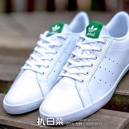 亚马逊中国:adidas Originals 阿迪达斯 三叶草 Miss Stan 女士复古小白鞋 限时秒杀历史新低价¥279包邮