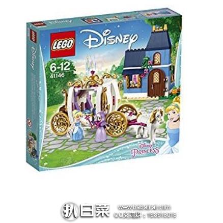 日本亚马逊:LEGO 乐高 41146 迪士尼公主系列 灰姑娘的魔法之夜  新低3408日元(约¥209)