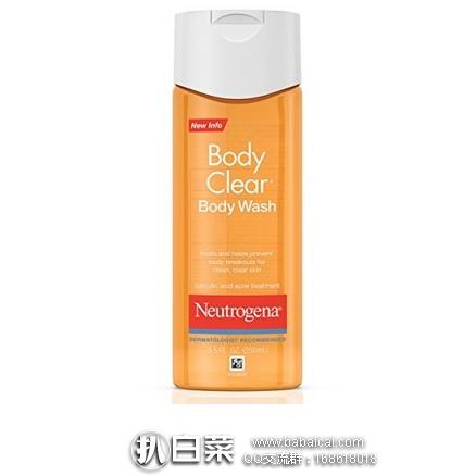 亚马逊海外购:Neutrogena 露得清 清爽祛痘沐浴露 含2%水杨酸 250ml*6瓶装 特价¥207.63,直邮免运费,含税到手仅¥232
