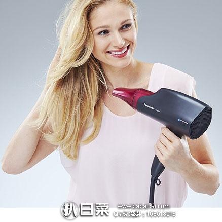 亚马逊海外购:Panasonic 松下 顺滑闪亮系列 EH-NA65-K 纳米技术吹风机 降至¥412.41元,直邮免运费,含税到手¥458.6