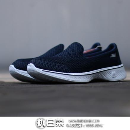 亚马逊海外购:Skechers斯凯奇 Go Walk 4 女士健步鞋 特价¥187.19,直邮免运费,含税到手仅¥210
