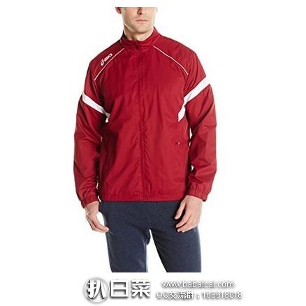 Amazon: Asics 亚瑟士 Surge男子热身运动夹克 特价$15.19,到手仅¥135