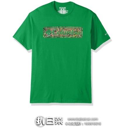 Amazon:Columbia 哥伦比亚 Cheyenne 男士100%纯棉T恤 特价$10.32左右