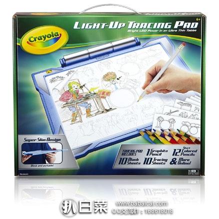 亚马逊海外购:Crayola 绘儿乐 发光临摹绘画板套装 降至¥84.21,凑单免费直邮含税到手新低¥94