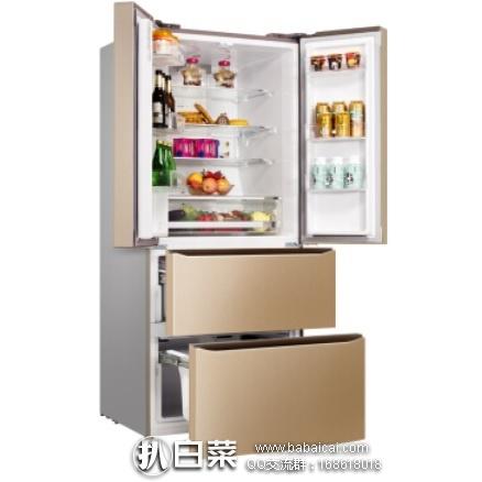 京东商城:Meiling 美菱 BCD-456WPUCX 多门冰箱 456升 现¥3999,双重优惠后仅¥3160!