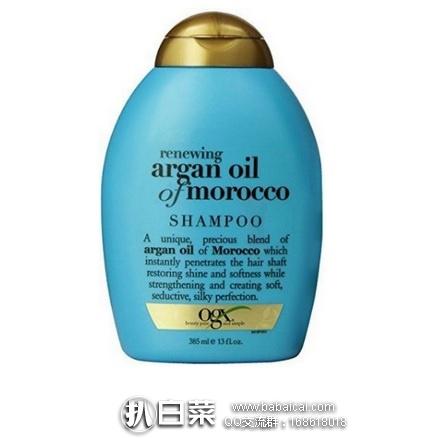 亚马逊海外购:OGX 摩洛哥坚果油洗发水 385ml 特价¥36.7,凑单直邮免运费,含税到手¥41