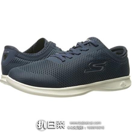 亚马逊海外购:Skechers 斯凯奇 Go Step系列 Lite-Persistence 女士轻质网面健步鞋 降至¥150.53,凑单直邮免运费,含税到手仅¥168
