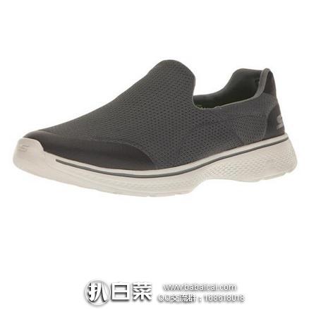 亚马逊海外购:SKECHERS 斯凯奇Go Walk 4男士健步鞋 降至¥222左右,凑单免费直邮,含税到手¥289