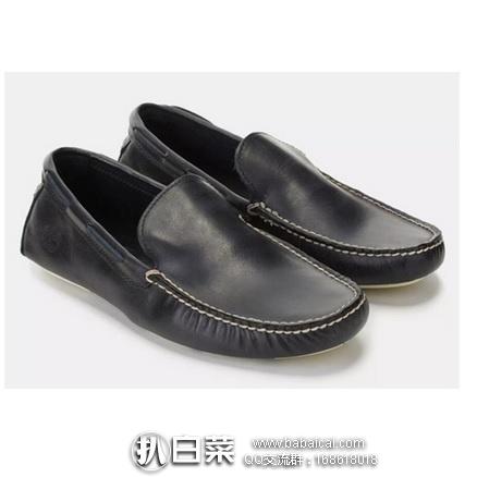 亚马逊海外购:Timberland 天木兰 Heritage Driver Venetian 男士一脚蹬真皮船鞋 乐福鞋 特价¥237.58,直邮免运费,含税到手仅¥266