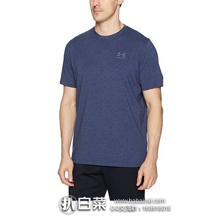 Amazon:Under Armour 安德玛 Charged 男士运动短袖T恤 特价$13.97,到手约¥122