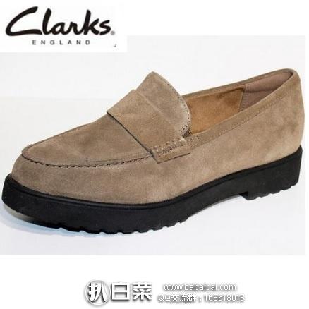 亚马逊海外购:Clarks 其乐 Bellevue Hazen 女士小羊皮乐福鞋 降至¥173.41,直邮含运费和关税到手新低¥269