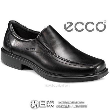 亚马逊海外购:ECCO 爱步 Helsinki赫尔辛基 男士一脚蹬皮鞋 降至¥517.45,直邮免邮含税到手新低¥567
