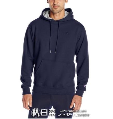 亚马逊海外购:Champion 冠军牌 男士保暖连帽卫衣 特价¥130左右,直邮免运费,含税到手仅¥145