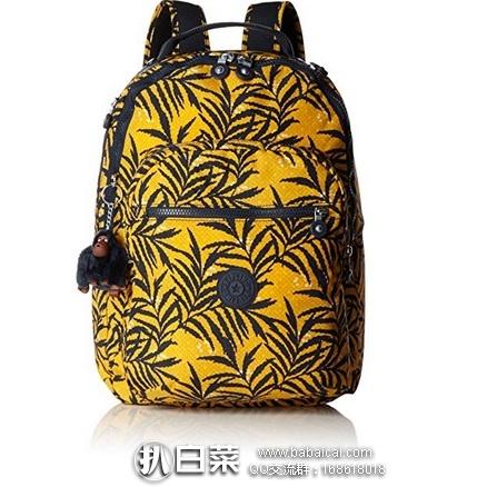 亚马逊海外购:Kipling 吉普林 clas seoul 大号双肩包 特价¥328.41,直邮免运费,含税到手¥367