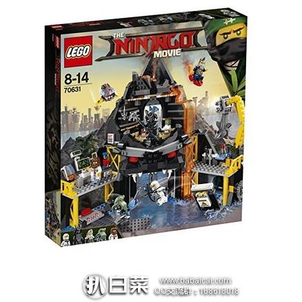 亚马逊海外购:LEGO乐高 70631 Ninjago 幻影忍者系列 加满都的火山基地 特价¥320.21,直邮免运费,含税到手仅¥360