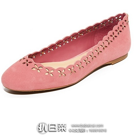6pm:MICHAEL Michael Kors 女士真皮平底鞋 原价$125,现新低$42.99,到手仅¥370