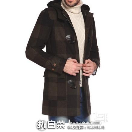 亚马逊海外购:Original Penguin 企鹅牌 Paddington 男士羊毛混纺外套 降至¥648.04左右,直邮免运费,含税到手¥725