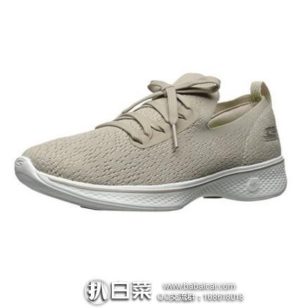 亚马逊海外购:SKECHERS 斯凯奇 Go Walk 4 女士健步休闲鞋 特价¥139左右,直邮含运费到手¥216左右
