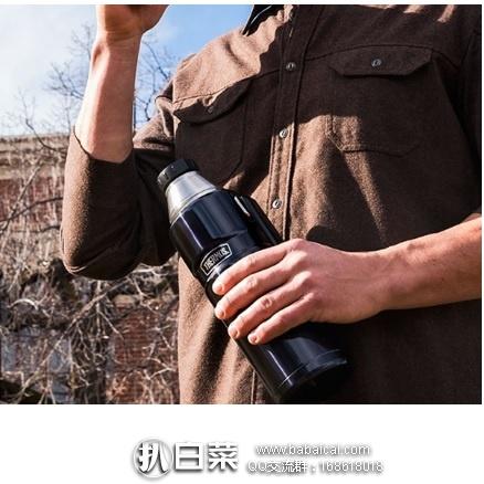 亚马逊海外购:Thermos 膳魔师 帝王系列 不锈钢保温瓶 保温杯 1.2L 特价¥137.61,凑单直邮免运费,含税到手仅¥154
