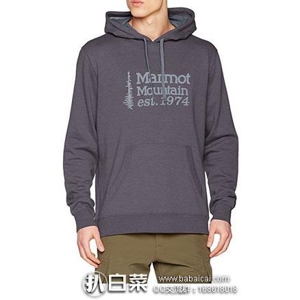 亚马逊海外购:Marmot 土拨鼠 男士连帽卫衣 直邮含运费含税到手仅¥258