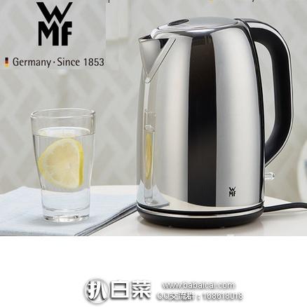 亚马逊海外购:WMF 完美福 Skyline 0413050021 不锈钢电热水壶1.6L 特价¥383.57,免费直邮,含税到手¥429
