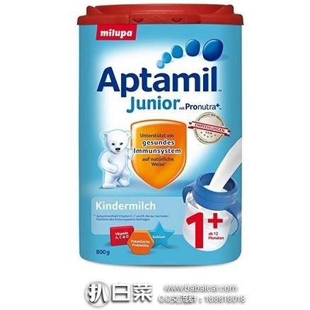 亚马逊海外购:Aptamil 爱他美 幼儿奶粉 1+ 800g*6盒装 降至¥705.57,直邮免运费,含税到手新低¥132/盒