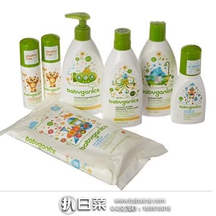 亚马逊海外购:Babyganics甘尼克宝贝 宝贝护肤套装 7件 降至¥186.87,凑单直邮免运费,含税到手仅¥208