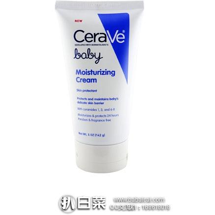 亚马逊海外购:CeraVe 婴幼儿保湿润肤霜 142g 降至¥59.55,凑单免费直邮,含税到手仅¥75