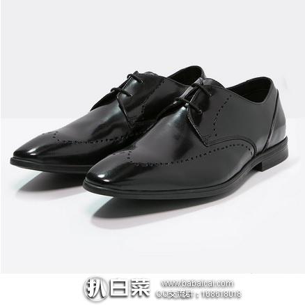 亚马逊海外购:2017年新款 Clarks 其乐 男士真皮正装皮鞋 现¥242.28,免费直邮,含税到手历史新低¥271,天猫¥909