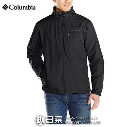 Amazon: Columbia 哥伦比亚 Utilizer Jacket 防泼水男士软壳 原价$90,现降至$33.99,到手¥265