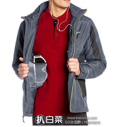 Amazon:Columbia 哥伦比亚 Antimony IV男士抗污透气夹克 冲锋衣 原价$180,现降至$48.99,到手¥424