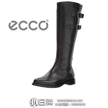 亚马逊海外购:ECCO 爱步 Sartorelle 25 型塑系列 女士真皮平底长靴,免费直邮含税到手¥860.59