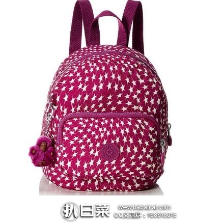 亚马逊海外购:Kipling 吉普林 munchin 女士双肩背包 特价¥215.37,直邮免运费,含税到手¥243