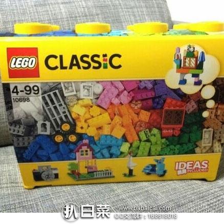 德国保镖大药房:LEGO乐高 CLASSIC 基础系列创意拼砌桶儿童积木玩具10698 8折价€35.99(约¥277元)
