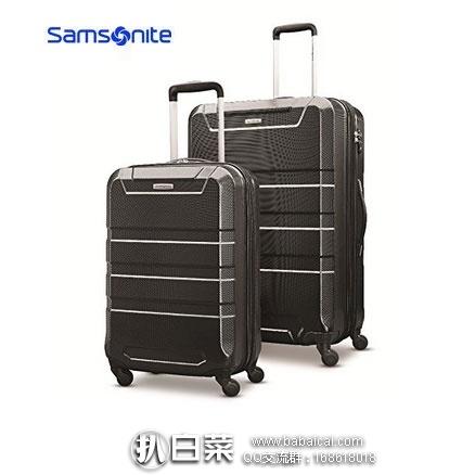 亚马逊海外购:Samsonite 新秀丽 Invoke 硬壳拉杆箱2件套(20+28寸) 黑色 降至¥940.13,直邮免运费,含税到手仅¥526/个