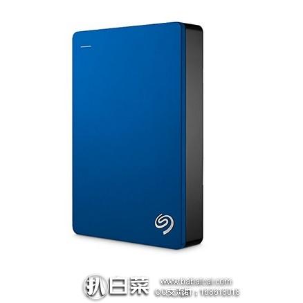 亚马逊海外购:SEAGATE 希捷 Backup Plus 新睿品 2.5英寸 移动硬盘 5TB  特价¥772.71,直邮免运费,含税到手仅¥864
