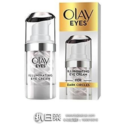 亚马逊海外购:Olay 玉兰油 亮眼明眸双旋眼霜15ml 特价¥86.78,凑单直邮免运费,含税到手¥97
