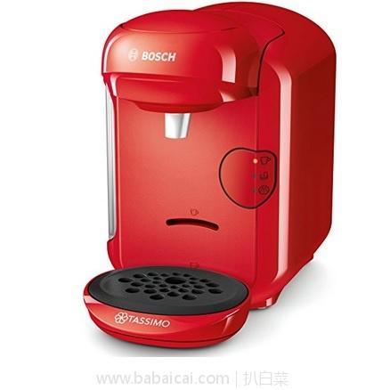 亚马逊海外购:Bosch 博世 Tassimo VIVY2系列 TAS1403 胶囊咖啡机 降至¥288.54,直邮免运费,含税到手仅¥321
