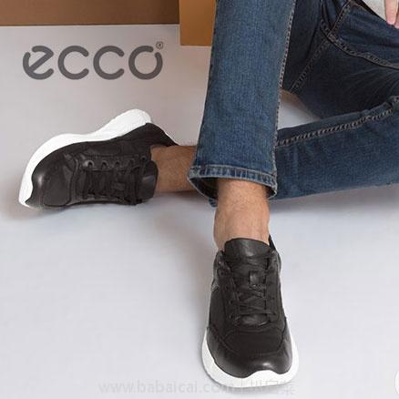 亚马逊海外购:ECCO 爱步 Luca系列 Low-Top Sneakers 男士休闲鞋 现特价¥456.92,直邮免运费,含税到手仅¥511